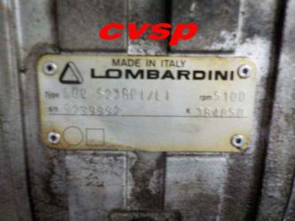 Moteur Lombardini focs essence à injection (28000km) (carter de distribution hs)