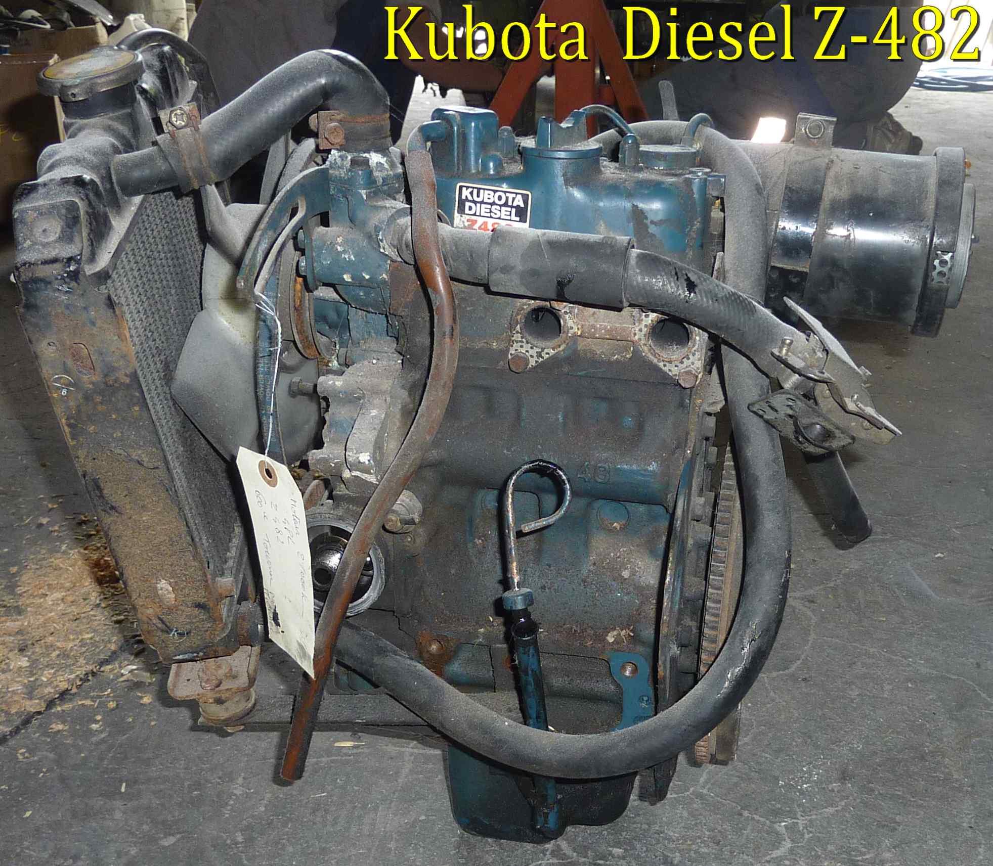 moteur kubota diesel z 482 aixam 550 4 places piece detachee voiture sans permis neuf et. Black Bedroom Furniture Sets. Home Design Ideas