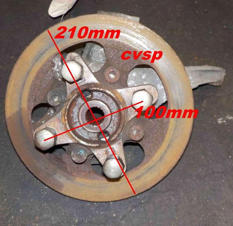 pivot c t conducteur diam disque 170mm entraxe de roue 100mm pr voir changer roulements. Black Bedroom Furniture Sets. Home Design Ideas
