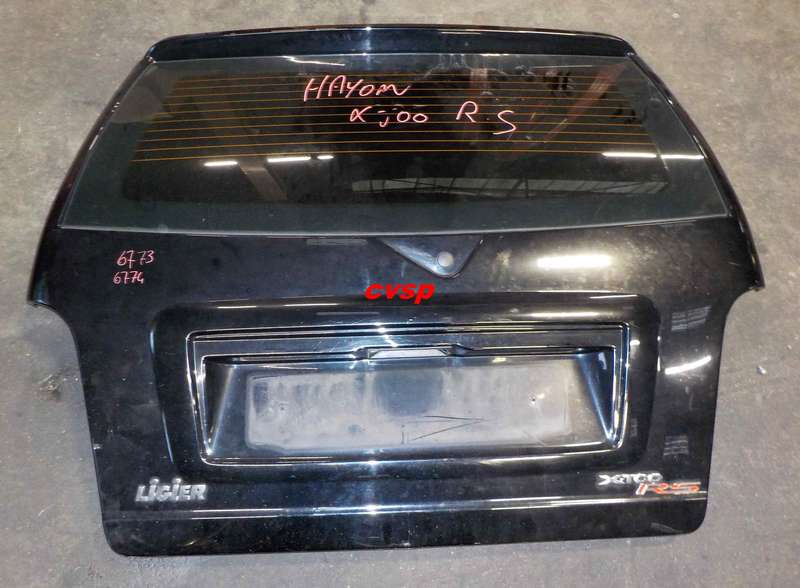 hayon ligier xtoo rs pi ce d tach e voiture sans permis neuf et occasion. Black Bedroom Furniture Sets. Home Design Ideas