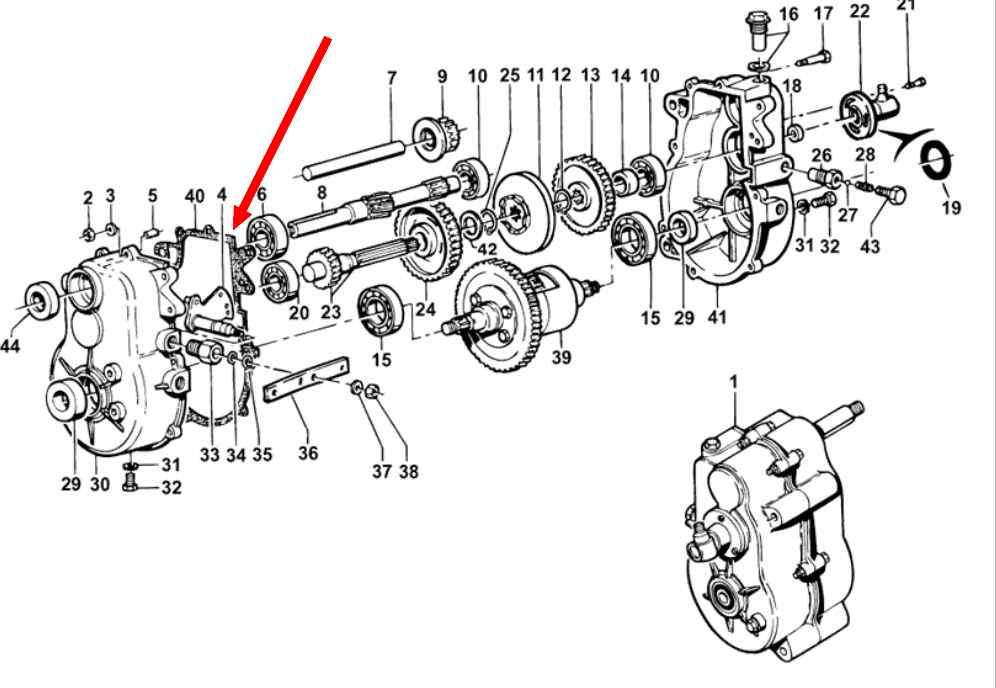 Intermédiaire de boîte de vitesses Boîtier Joint 091301191 /> Type 25